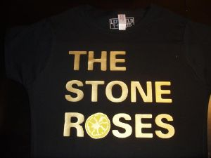 WOMENS `THE STONE ROSES` T-SHIRT